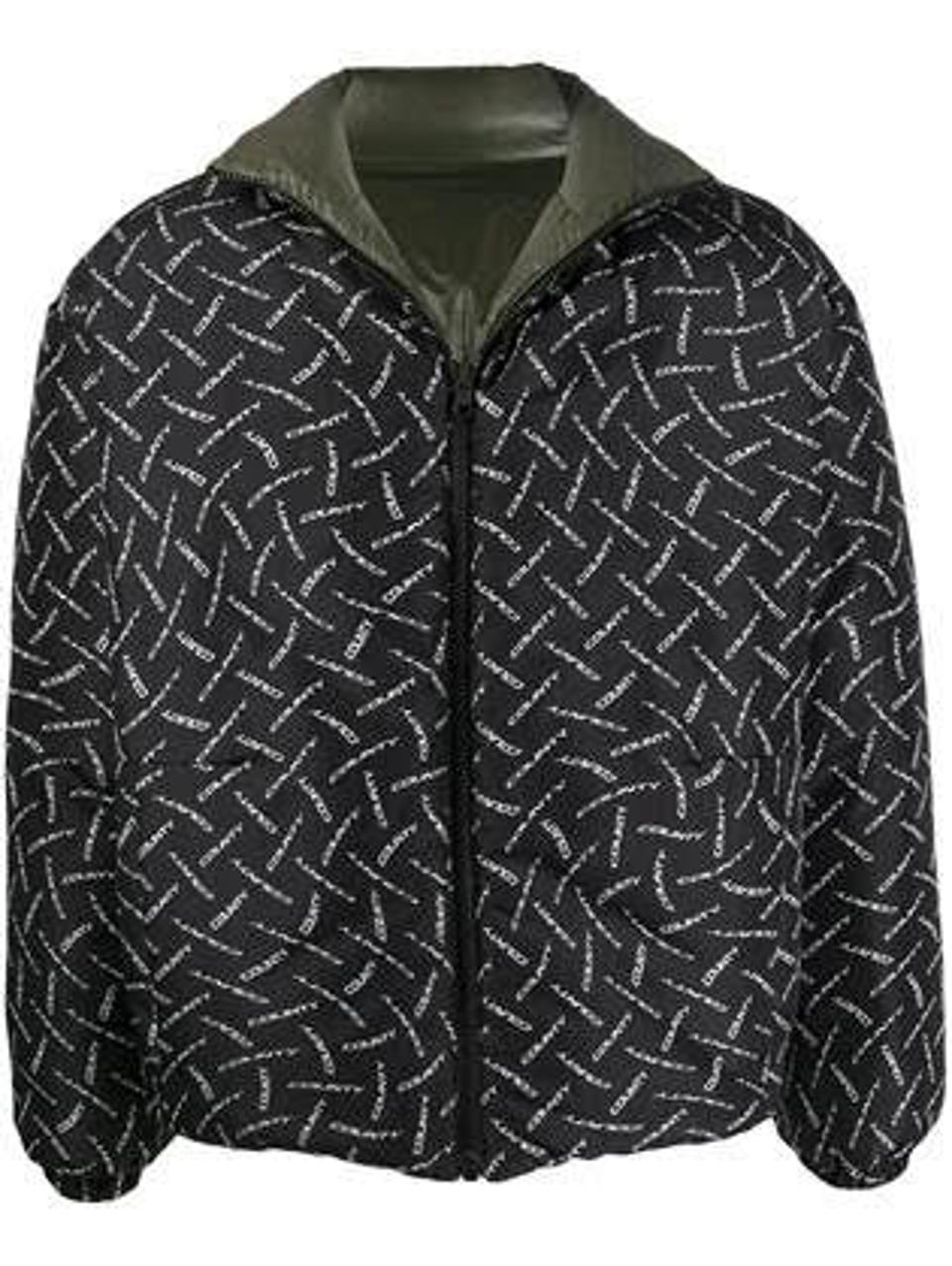 Marcelo Burlon, County of Milan Reversible Puffer Jacket