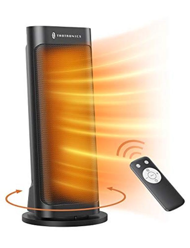 TaoTronics PTC 1500W Fast Quiet Heating Ceramic Tower Heater