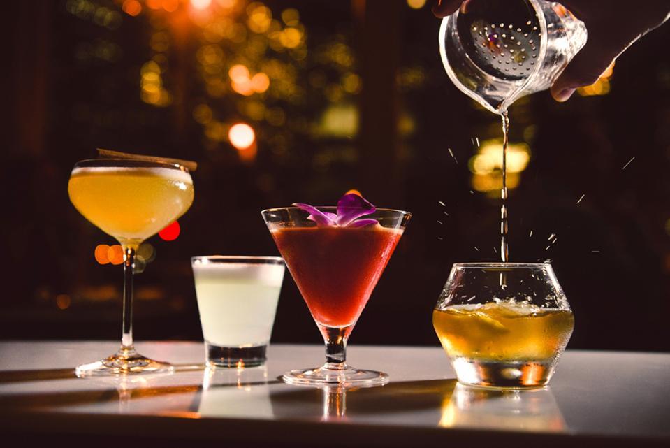 La Mar cocktails.