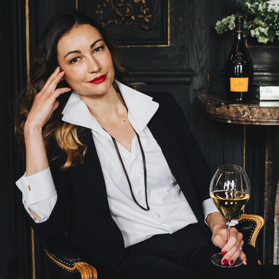 Gaëlle Goossens, Winemaker at Veuve Clicquot