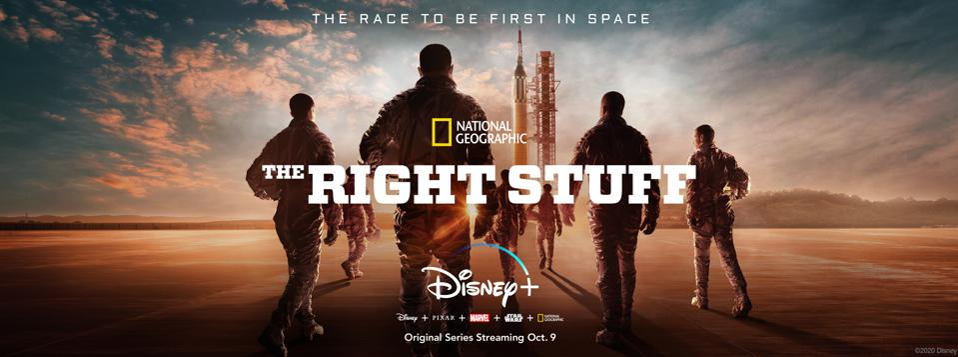 Nat Geo ″The Right Stuff″
