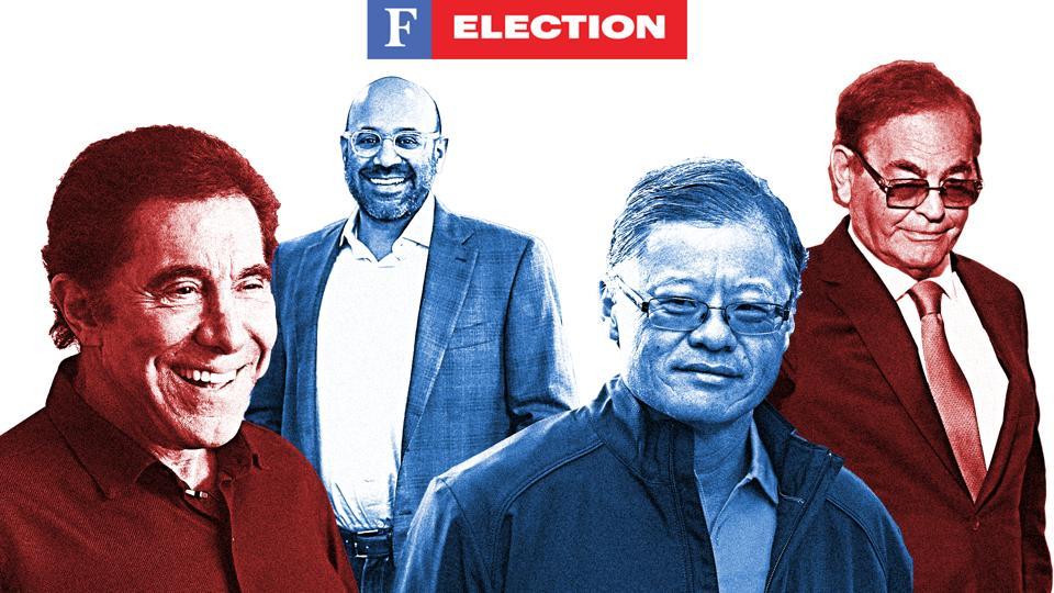 Steve Wynn, Niraj Shah, Jerry Yang, Phil Ruffin