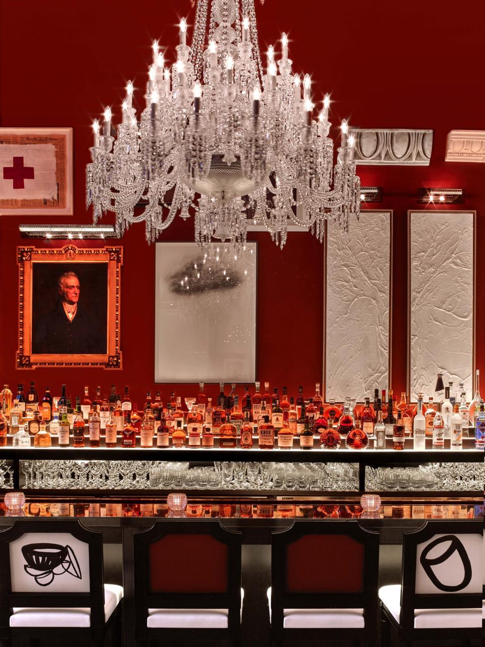 Bar at Baccarat Hotel