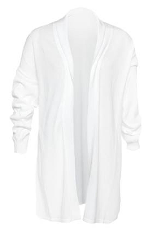 Baja East Drop Jacket in Satin White