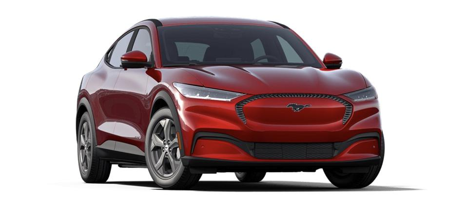 The Ford Mustang Mach-E will compete with the Tesla Model Y.