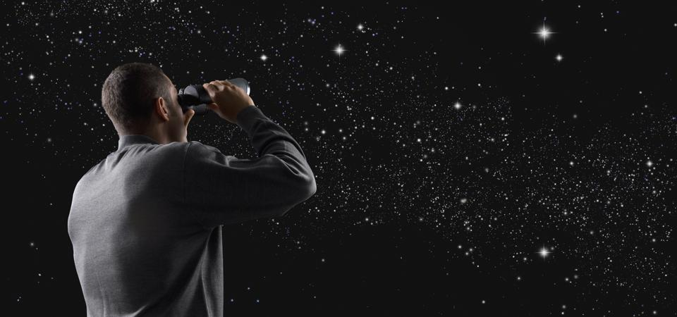 A pair of binoculars will help you access a whole new layer of the night sky—there's no need for a telescope just yet.