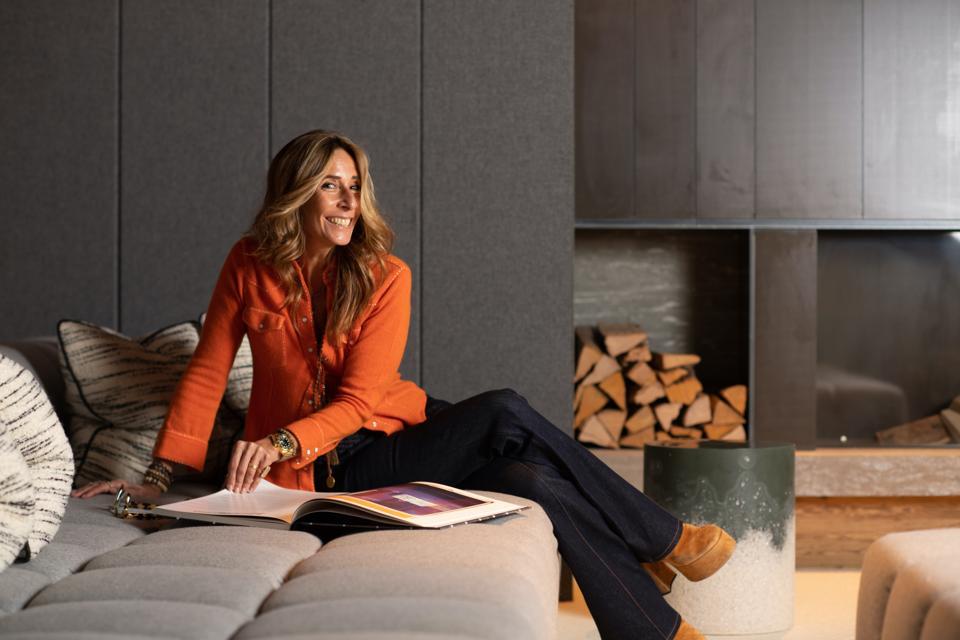 British interior designer Tara Bernerd