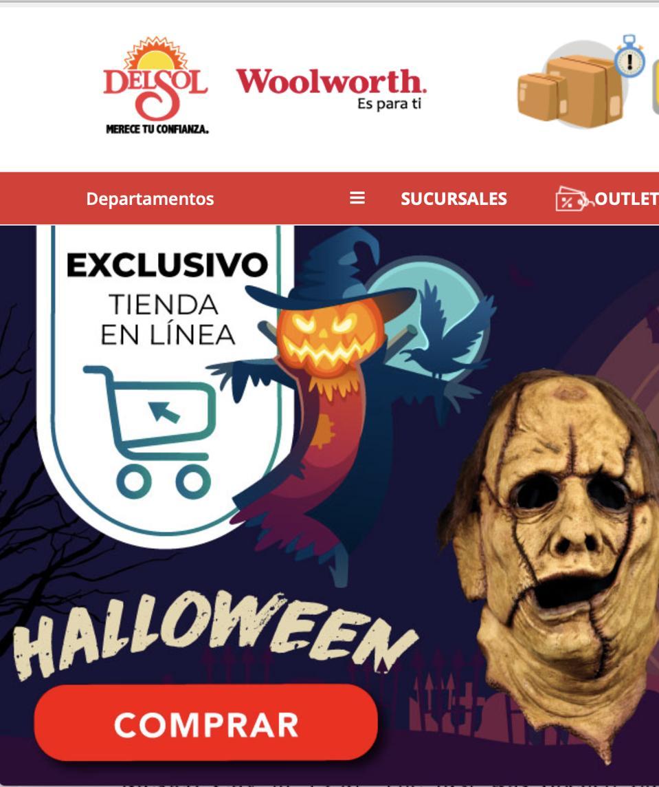 Woolworth Mexico Halloween