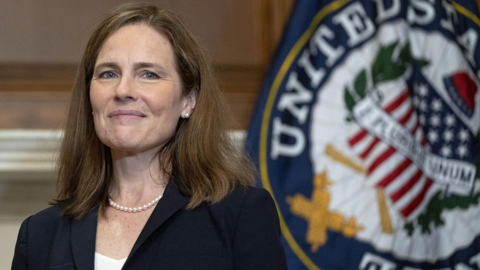 Amy Coney Barrett's First Supreme Court Vote Could Be To Limit Ballot  Counting