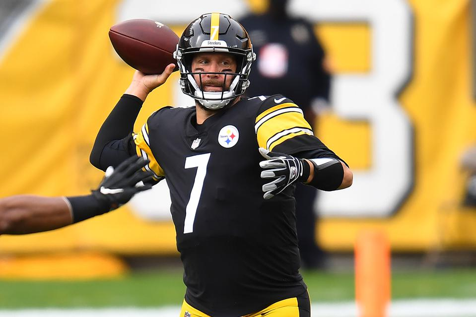 Ben Roethlisberger has led the Steelers to an unbeaten record heading into Week 7,