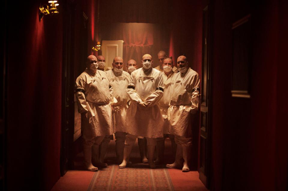 Inside the hotel in Netflix's 'Cadaver'