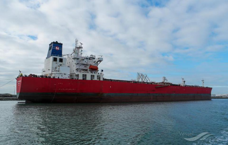 The 70,000 ton Liberia flagged Nave Andromeda oil tanker was suspected of a hijacking in the English Channel