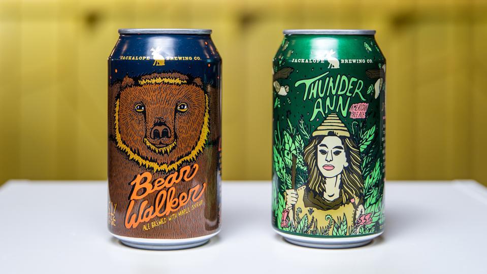 Beers from Jackalope Brewing in Nashville
