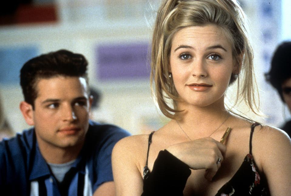 Justin Walker And Alicia Silverstone In 'Clueless'