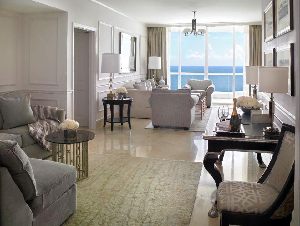 Work from your new home at The Acqualina.