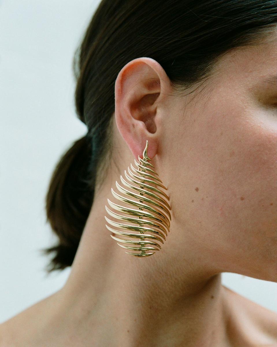 Fernando Jorge Flame 18k Gold Earrings
