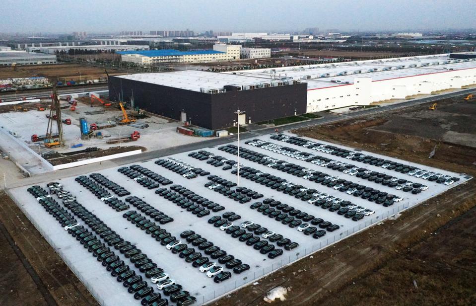 Tesla Gigafactory In Shanghai