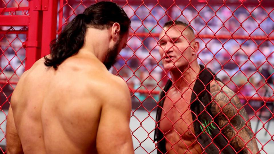 Drew McIntyre defended his WWE Championship against Randy Orton at WWE Hell in a Cell.