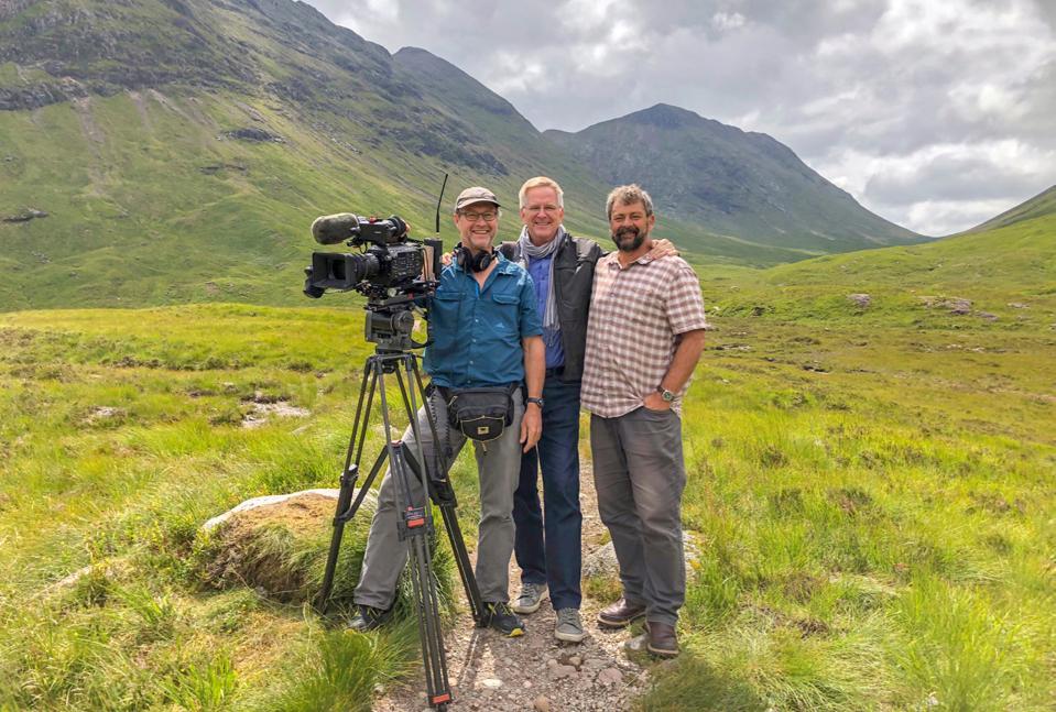 Rick Steves in Scotland.
