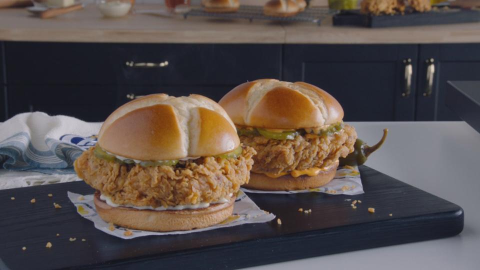 Church's Chicken sandwich