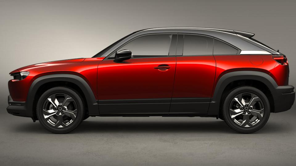 The MX-30 offers radical rear-hinged freestyle doors like the RX-8