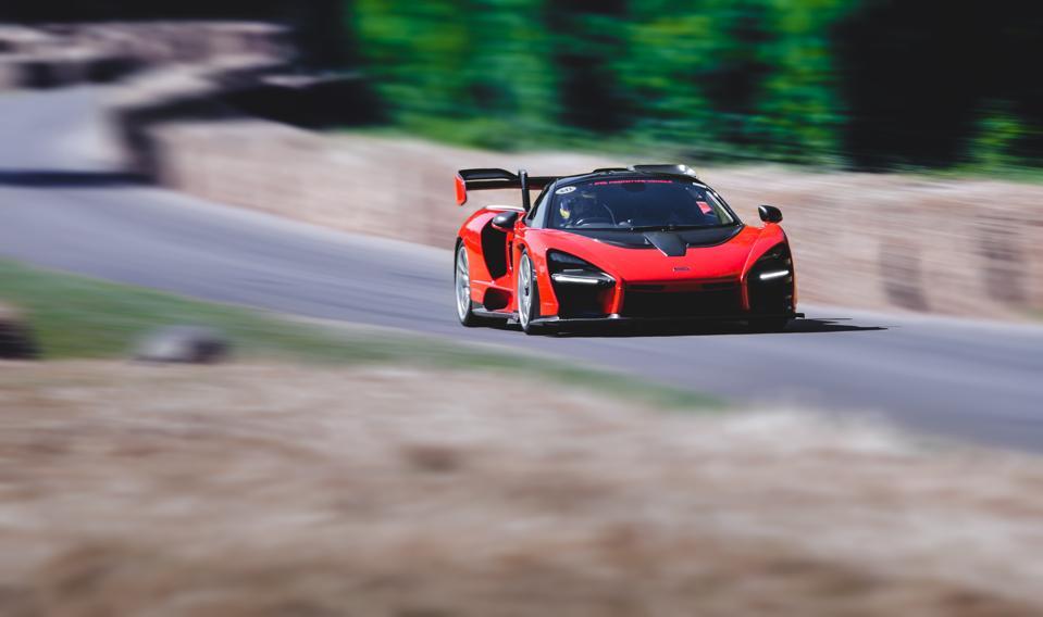 The McLaren Senna...