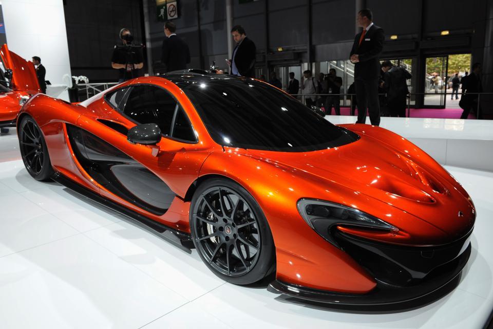 McLaren In The 2012 Paris Motor Show