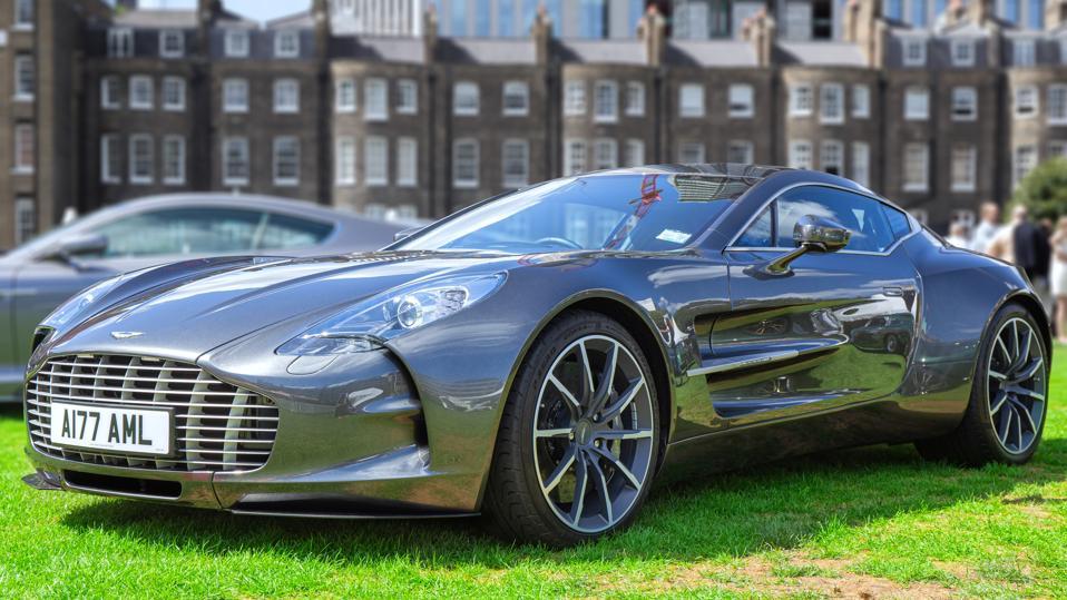 The Aston Martin One-77...