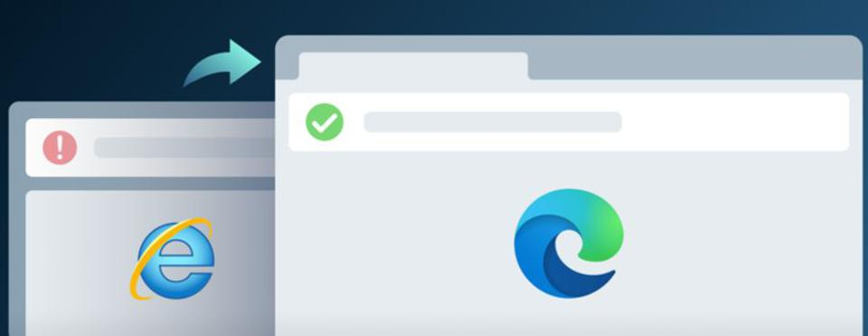 Switch from Microsoft Internet Explorer to Edge