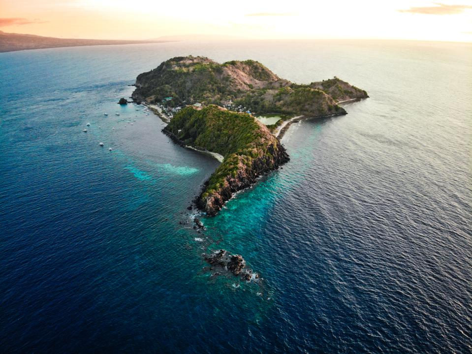 Apo Island, The Philippines - Aerial Photography