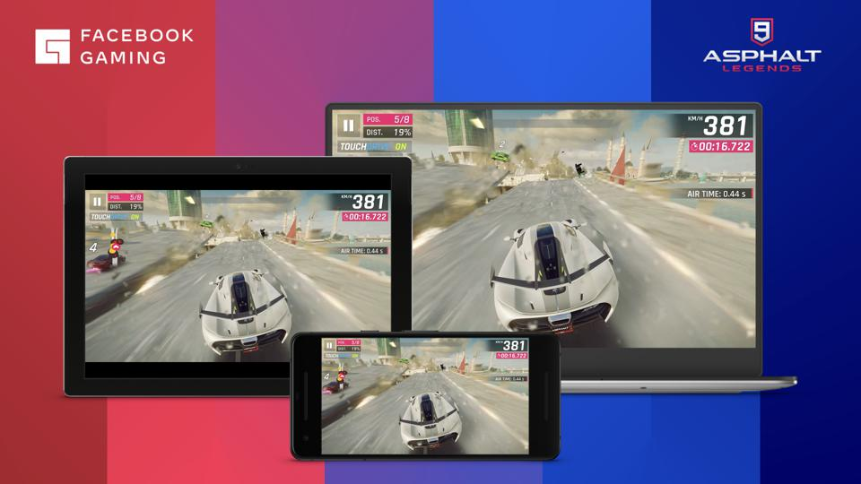 Facebook is launching free cloud gaming with titles like Asphalt 9 and PGA Tour.