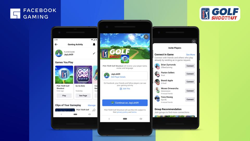 PGA Tour Golf Shootout is one of the games Facebook Gaming is adding to the streaming cloud games launch.