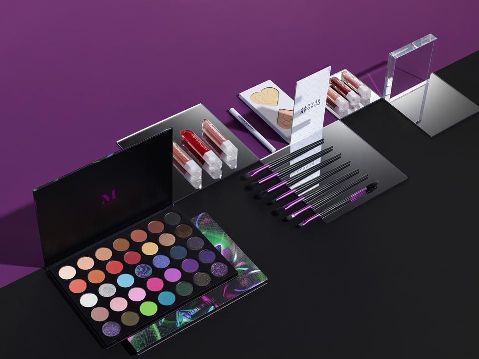 Nikita Dragun's collection for Morphe, alongside her namesake Dragun Beauty products