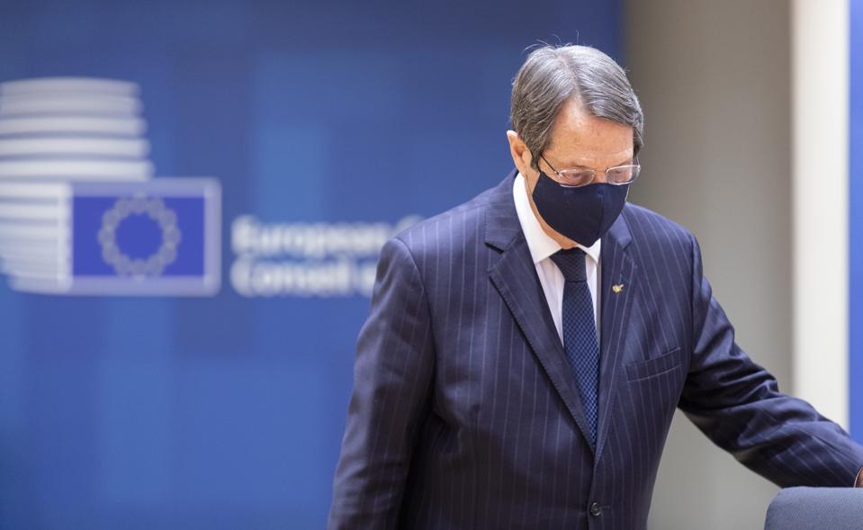 Nikos Anastasiades - EU SUmmit