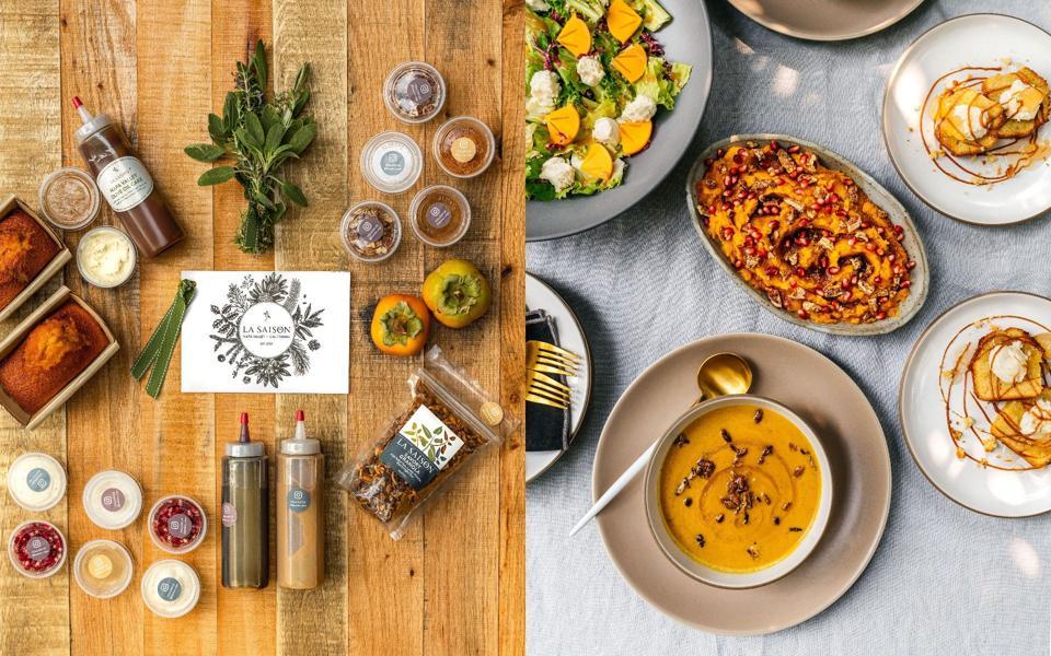 La Saison Thanksgiving Delivered
