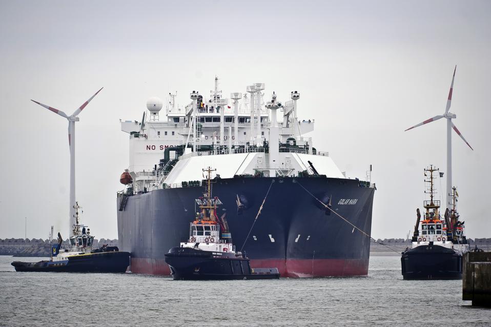 Ships Arrive At The Port Of Zebrugge
