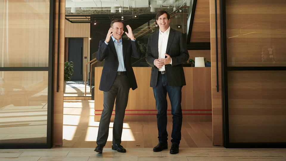 Inspire Brands cofounders Paul Brown (left) and Neal Aronson (right) started a massive acquisition spree in 2018.