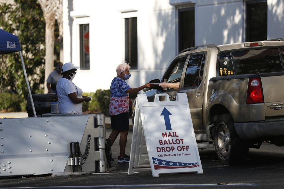 Pinellas Sheriff Says To Station Deputies Outside Pinellas County Polling Sites In Florida