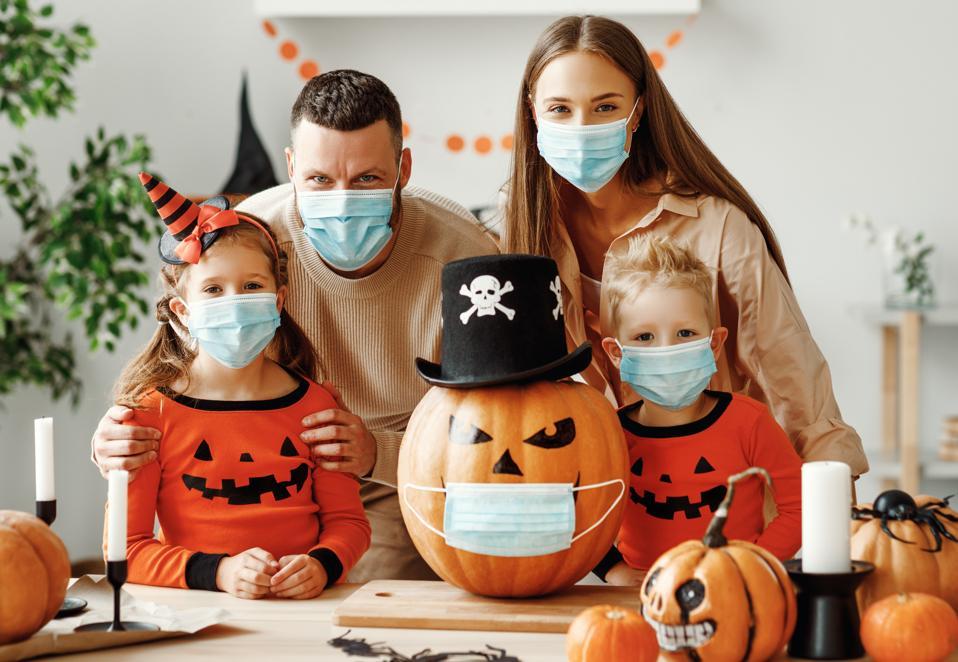 Halloween during the covid19 coronavirus pandemic