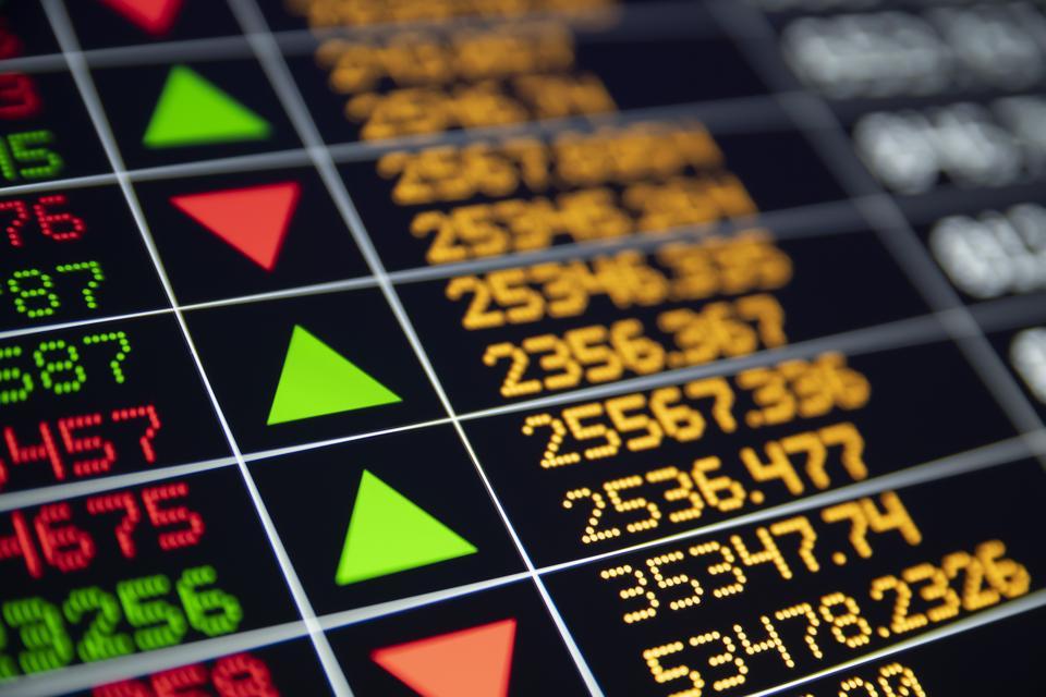 Financial data board