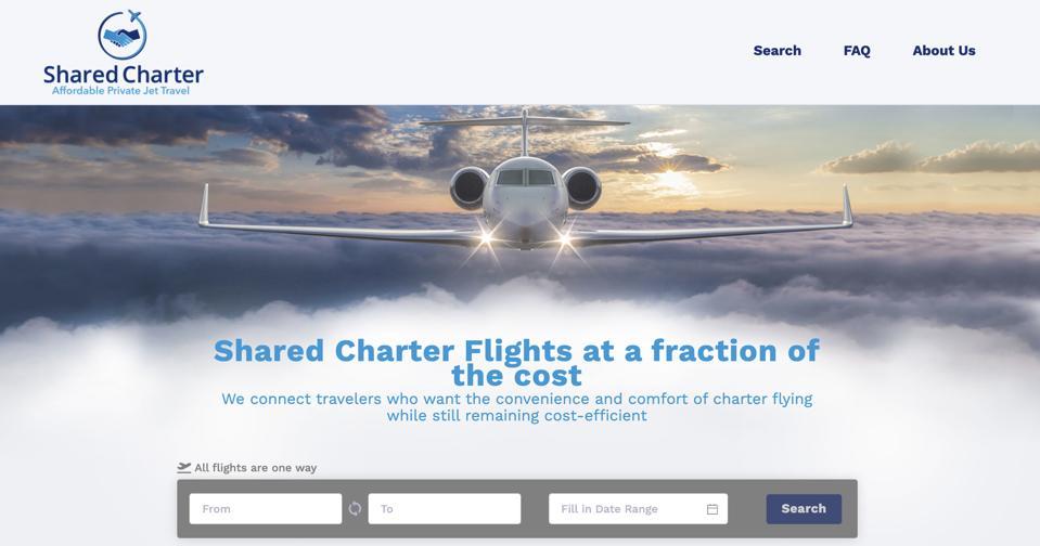 share charter flights