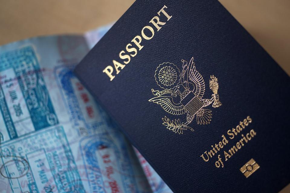 Views Of U.S. Passports
