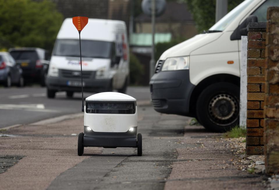 Robot deliveries