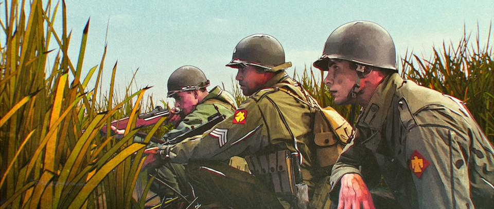 World War Two animated mini-series premieres on Veterans Day and is based on the book ″The Liberator: One World War Two Soldier's 500-Day Odyssey″.