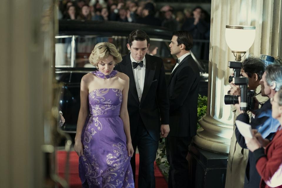 The fourth season of 'The Crown' features the relationship between Princess Diana and Prince Charles. The Royal Family.