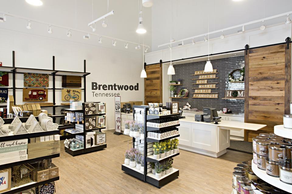 Kirkland store interior