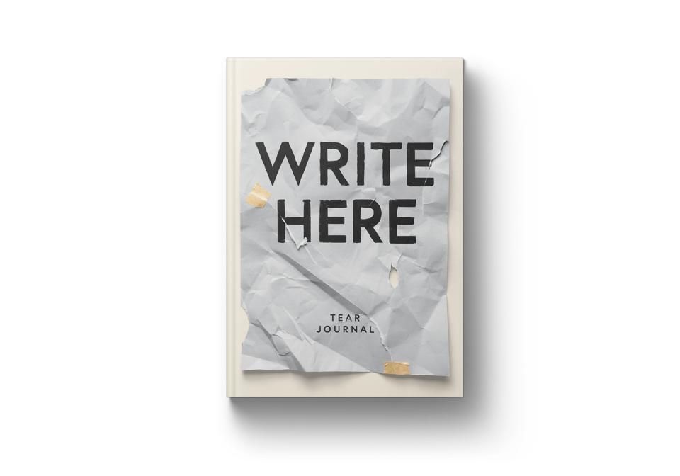 Nicole Russell Write Here Tear Journal