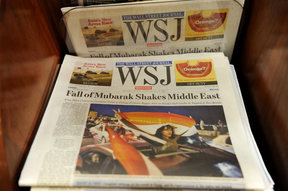 Wall Street Journal newspaper