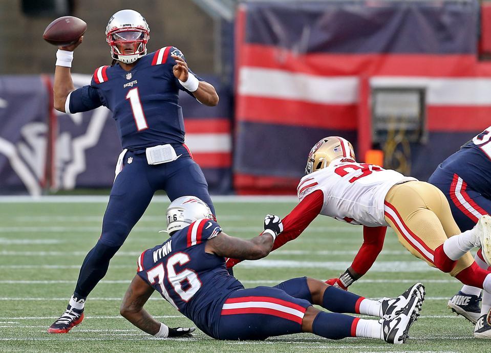 Patriots vs 49ers