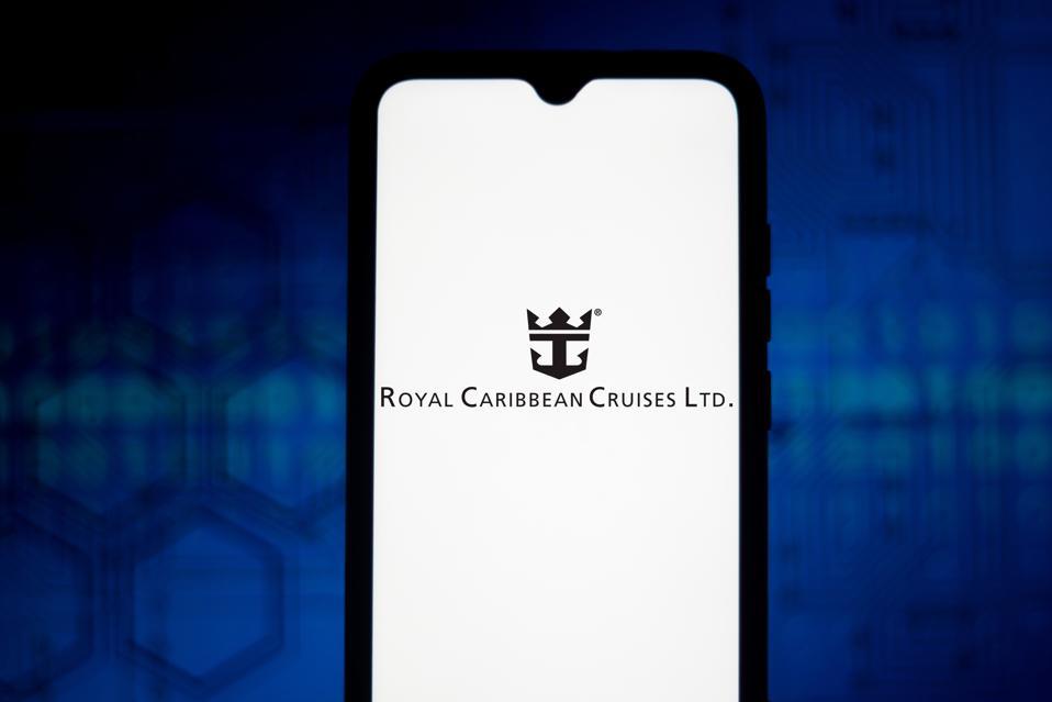 In this photo illustration the Royal Caribbean Cruises Ltd (...